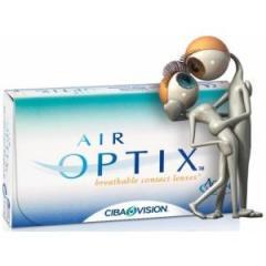 Линзы контактные мягкие Air Optix Aqua