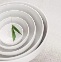 Bowls from Guy Degrenne porcelain