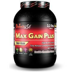 Гейнеры для спортсменов MAX GAIN PLUS 1000 грамм