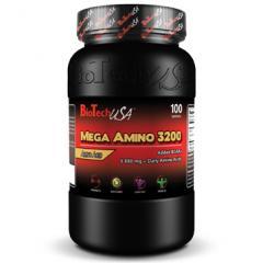 Аминокислоты, спортивное питание Mega Amino 3200-