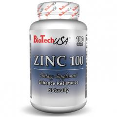 Витамины и минералы ZINC 100 таблеток