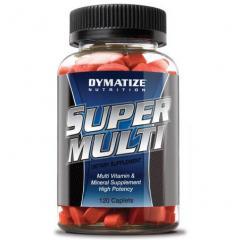 Витамины и минералы SUPER MULTI VITAMIN 120 капсул