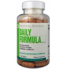 Витамины и минералы DAILY FORMULA 100 таблеток