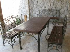 МЕТАЛЛОИЗДЕЛИЯ - Кованая мебель
