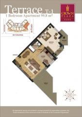 Элитные квартиры. 2-комнатные квартиры с террасой