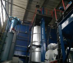 Equipment for production of sunflower oil
