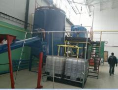 Оборудование для фильтрации растительных масел