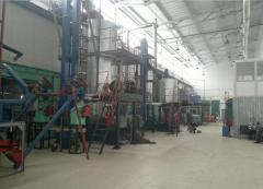 Equipment for extraction of vegetable oils