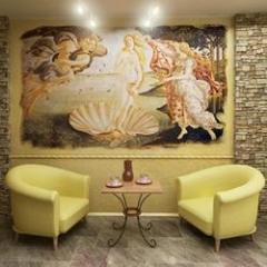Frescos interior in Moldova
