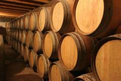 Oak wine casks in Moldova