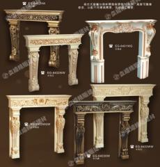 Fireplaces are decorative polyurethane