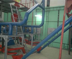 Equipment for production of vegetable oil