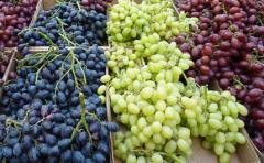 All grades of grapes