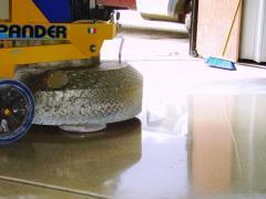 Floors are concrete industrial