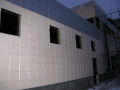 Cartridges,  panels,  sandwich panel fron