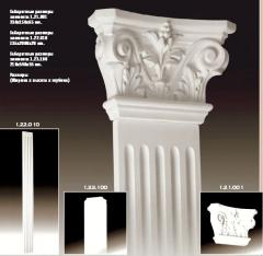 Pilasters from polyurethane in Moldova