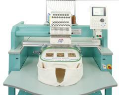 Single-head TAJIMA embroidery machines of the