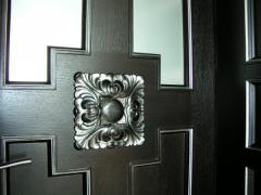 Decor elements from a tree, Doors interroom in