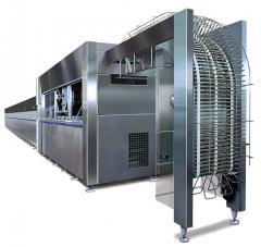 Оборудование для производства плоских вафельных