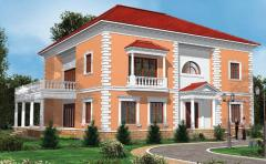 Stucco molding front EVROPLAST Facade