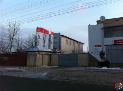 Buildings from a sandwich of panels in Moldova