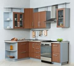 Маленькая угловая кухня на заказ Модель-06