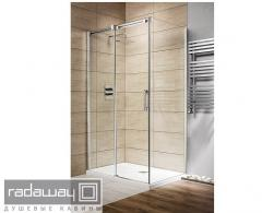 Rectangular shower cabins of RADAWAY Espera KDJ