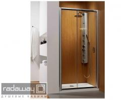 Shower doors of RADAWAY Premium Plus DWJ