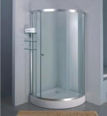 Glass shower cabins