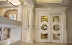 Products decorative of polystyrene