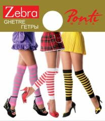 Dense gaiters of ZEBRA