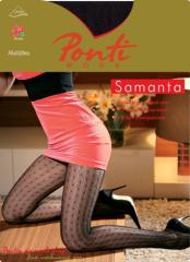 Женские эластичные колготки SAMANTA
