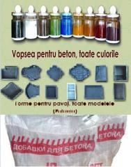 Materiale pentru producerea pavajului