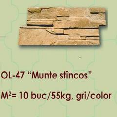 Placaj pentru fasad Munte stincos OL-47