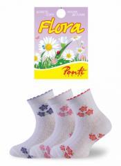 Детские ажурные носочки FLORA 02