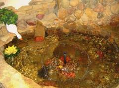 Fountains are interior