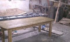 Дачная Деревянная мебель под старину(состаринная