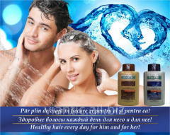 VIANTIK ASSET plus shampoo with natural oils and