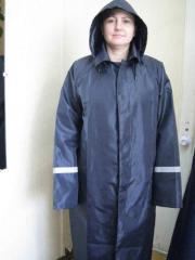 Moisture resistant overalls