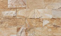 Камень натуральный облицовочный 10см цвет: Персик