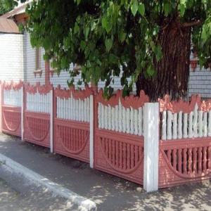 Ограды декоративные, Заборы двухсторонние