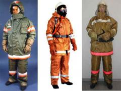 Clothes protective for firefighters
