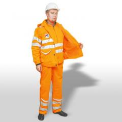 Clothes protective for miners and miners