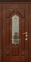 Дубовые бронированные входные двери
