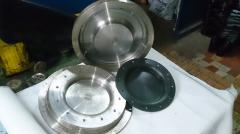 Equipment of compression molds and metal working.
