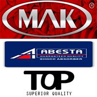 Автозапчасти MAK, TOP, ABESTA