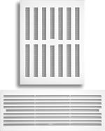Решетки дверные и регулируемые
