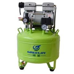 The compressor is oil-free GA-81
