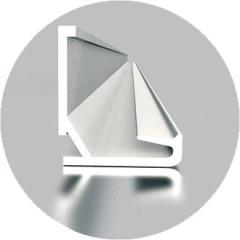 Profile visible plastic