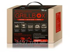 Grillbox (brichete) for braziers and gratar (shish